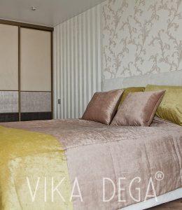 Римские-шторы_кровать